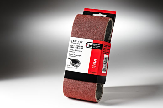 261232-Porter Cable2&1-2in x 14in. Sanding Belt-80 Grit #712400805-2