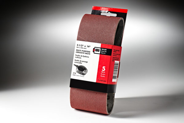 261238-Porter Cable2&1-2in x 14in. Sanding Belt-180 Grit #712401805-2