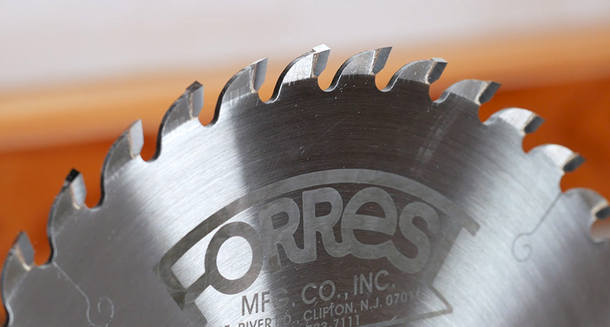 Get Perfect Rip and Crosscuts with Just one Saw Blade!