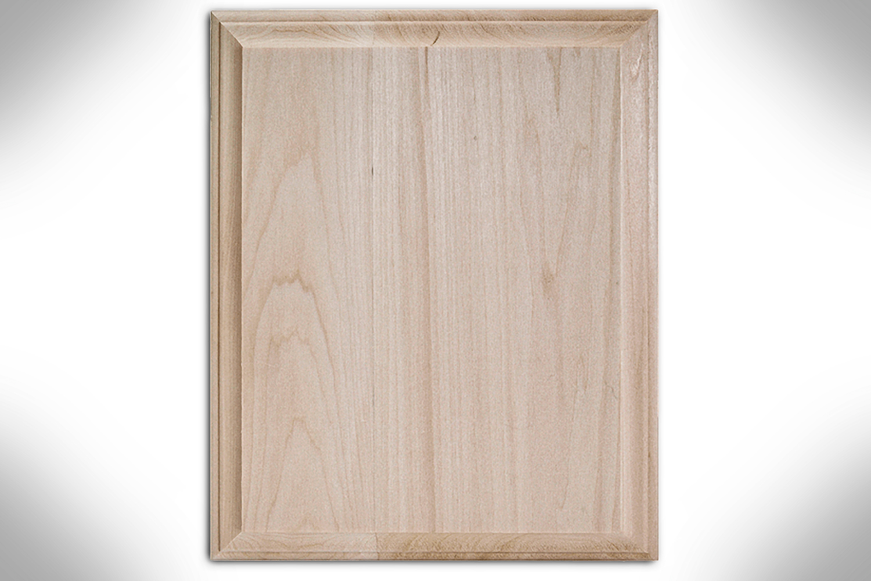 Rectangle Wide Edge Basswood Plaque 8×10 1888