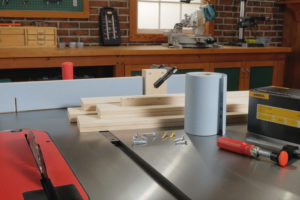 The Woodsmith Store Miter Gauge Fence Kit