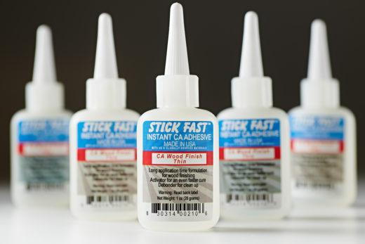 203169 Stick Fast CA Wood Finish Thin 1 Oz 210