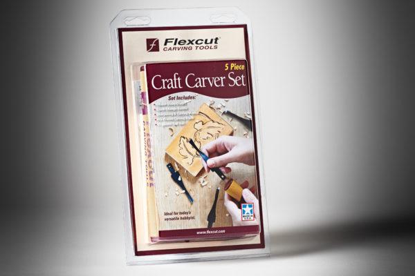 Flexcut 5 pc. Craft Carver Set SK106-1