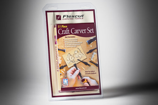 Flexcut 11 pc. Craft Carver Set SK107-1