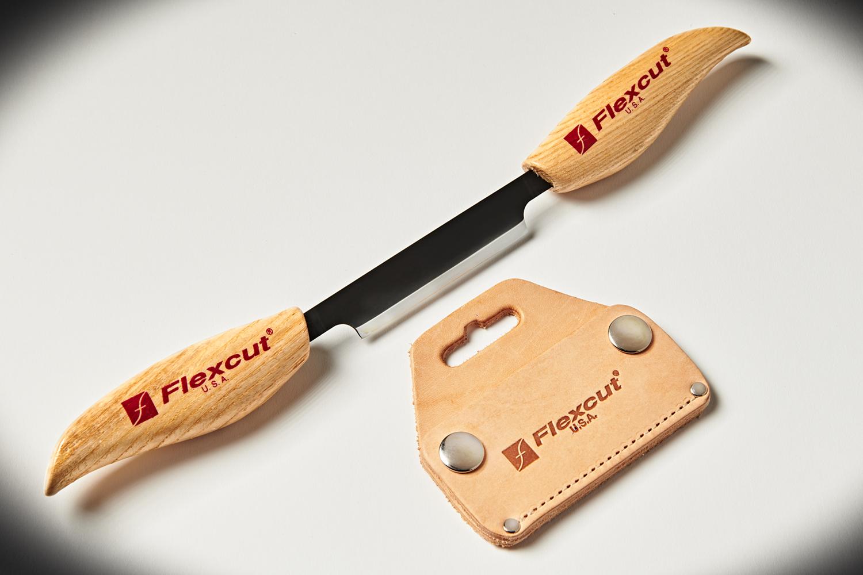 359112 #KN25 Flexcut3inDrawKnife 4107