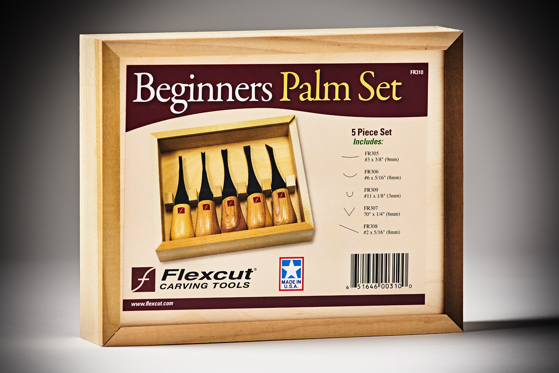 359147 #FR310 Flexcut5pcBeginnersPalmSet 4097