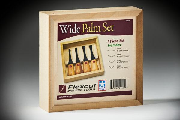 Flexcut Wide-Format Palm Set FR404-4