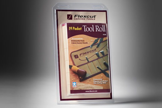 Flexcut 19 Pocket Tool Roll SK200-2