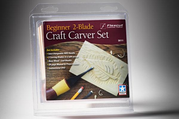Flexcut Beginner 2-Blade Craft Carver Set SK111-3