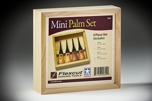 Flexcut Mini-Palm Set FR604-4