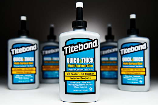 551030 Titebond Quick and Thick Multi-Surface Glue 8 Oz FR2403