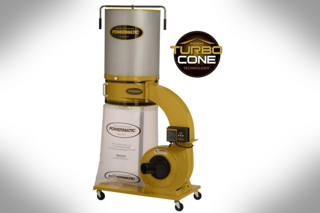 Powermatic-PM1300TX-CK Dust Collector,1.75HP,2-Micron Kit