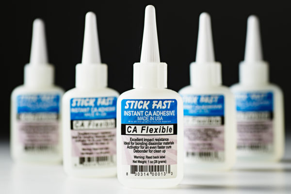 Stick Fast CA Flexible Adhesive Glue Clear 1oz 013