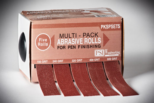 PSI Woodworking Multi-Pack Abrasive Rolls_5Pack #PKSPET5