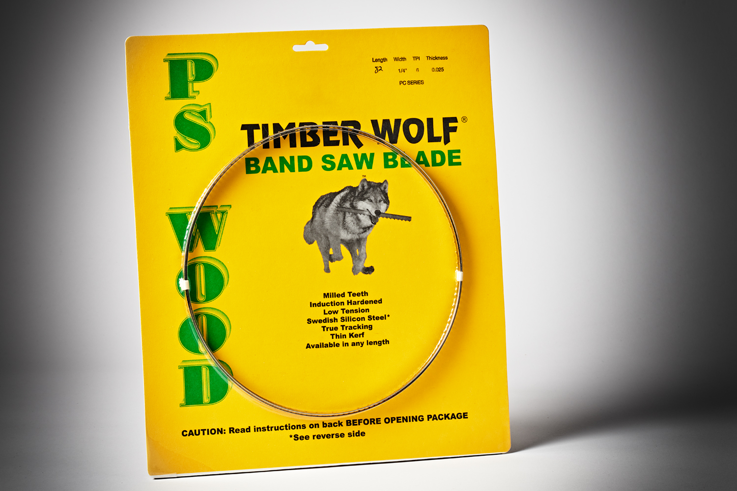 Timber Wolf Bandsaw Blade 82 1-4 6TPI PC Series-1