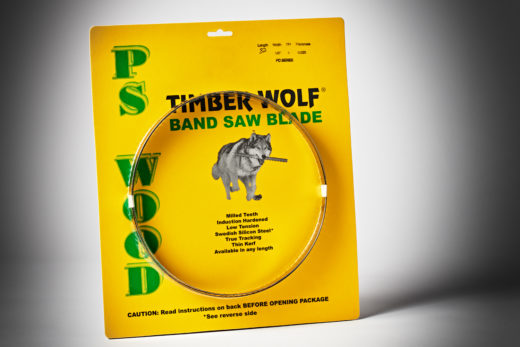 Timber Wolf Bandsaw Blade 82 1-2 4TPI PC Series-1