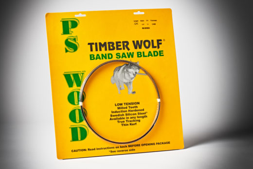 Timber Wolf Bandsaw Blade 125 1-4 10TPI RK Series-1