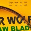 Timber Wolf Bandsaw Blade 105 1-2 4TPI PC Series-1