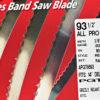 Olson AP Bandsaw Blade 93&1-2x3-16x10TP Reg AP70893-1