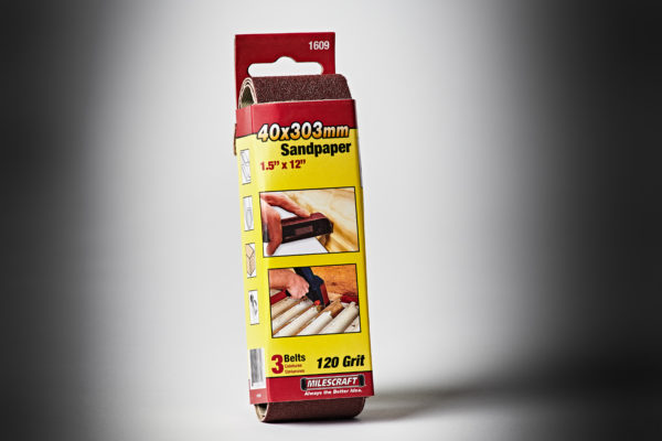Milescraft Sanding Belt_1&1-2in x 12in 120Gr #1609-2