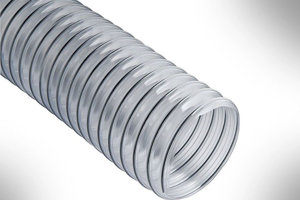 Dust Right Clear Flexible Dust Collection Hose-4in x 10ft-#22791-1