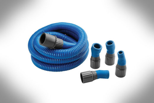 Dust Right FlexiPort Power Tool Hose Kit, 12' Fixed-Length 51170-3