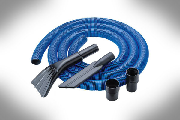 Dust Right® 12' Heavy-Duty Shop Vacuum Hose Kit 58904-1