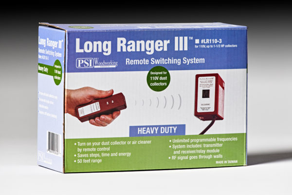 PSI Woodworking 110-Volt Long Ranger Dust Collector Switch LR1-2