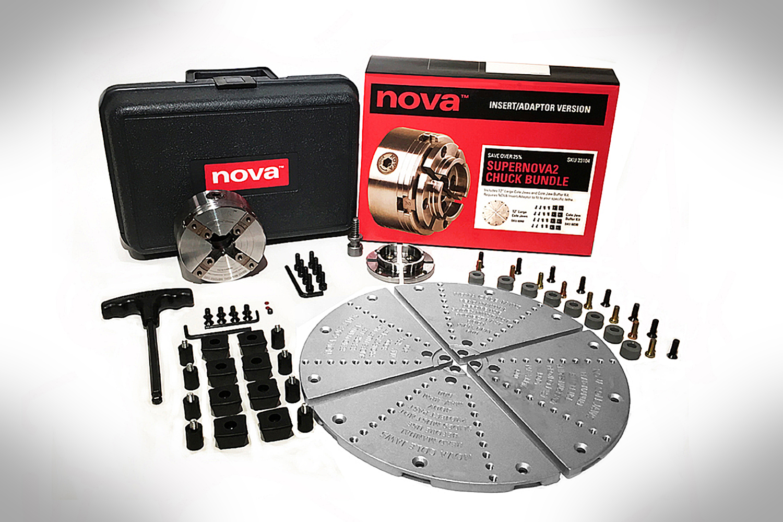 Nova Supernova2 Bowl Turning Chuck Bundle Insert 23104-2