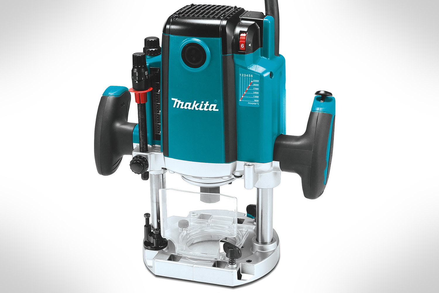 Makita 3-14 HP Plunge Router with Variable Speed RP2301FC-3