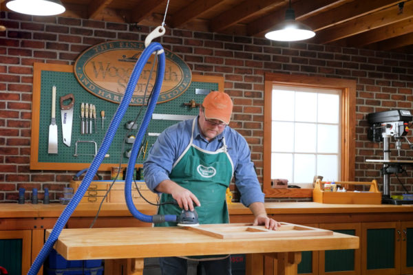 he Woodsmith Store Above the Bench Dust Collection Kit 06