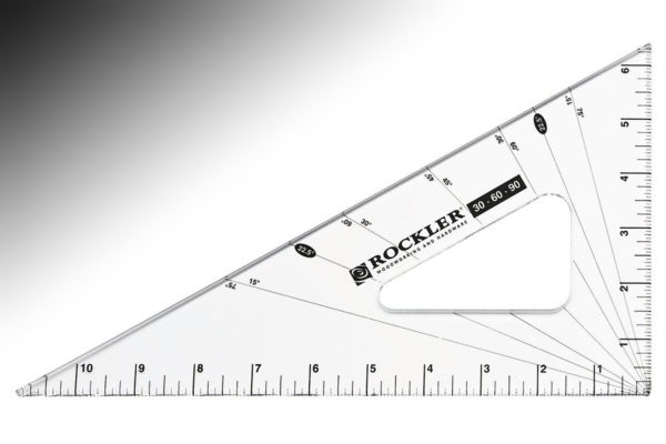 Rockler 30-60-90 Woodworker's Triangle 31545-2