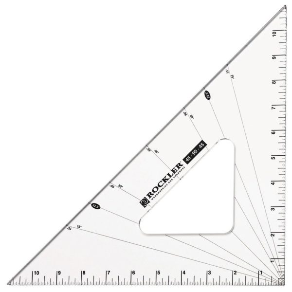 Rockler 45-90-45 Woodworker's Triangle 33486-2