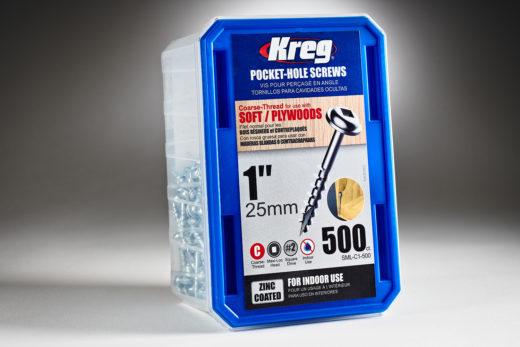Kreg #7 x 1 Pocket Hole Screws, Coarse-Thread, SPS-C1 - 500-2
