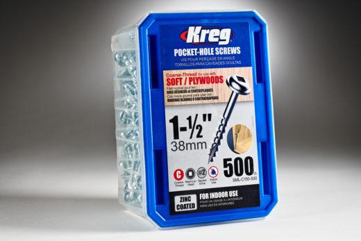 Kreg #8 x 1-12 Pocket Hole Screws, Coarse-Thread, SML-C150 - 500-2