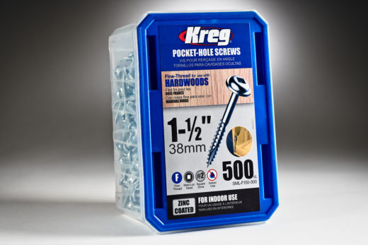 Kreg #7 x 1-12 Pocket Hole Screws, Fine-Thread, 500 ct. SML-F150 - 500-2