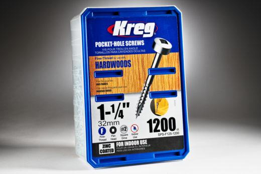 Kreg #6 x 1-14 Pocket Hole Screws, Fine-Thread, 1200 ct. SPS-F125-1200-2