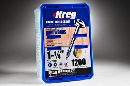 Kreg #7 x 1-14 Pocket Hole Screws, Fine-Thread, 1200 ct. SML-F125-1200-2