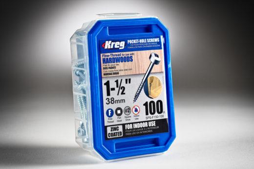 Kreg #6 x 1-12 Pocket Hole Screws, Fine-Thread, 100 ct. SPS-F150 - 100-2