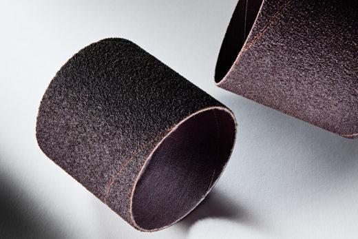 Clesco Spiral Coated Abrasive Sanding Sleeve 3 D x 3 L 50 Grit SS-048048-050A