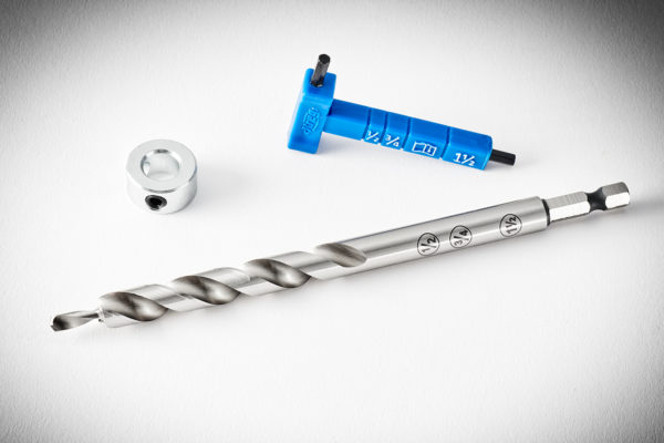 Kreg Easy-Set Drill Bit with Stop Collar & GaugeHex Wrench KPHA308-5