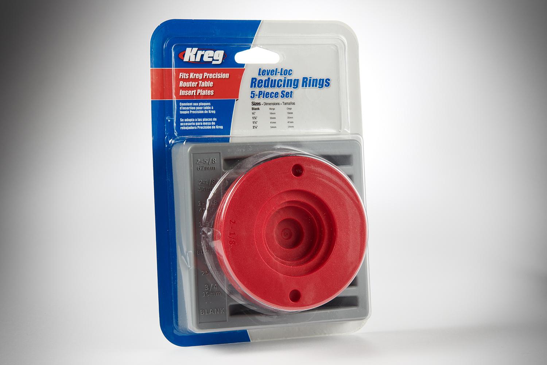 Kreg Level-Loc Reducing Rings (5-Piece Set) PRS3050