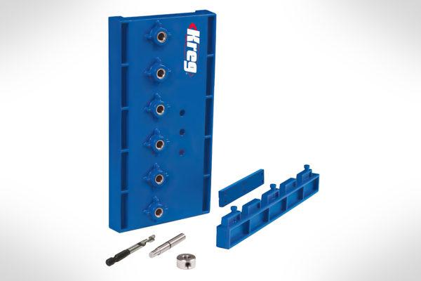 Kreg Shelf Pin Jig with 14 (6mm) Drill Bit KMA3200-4