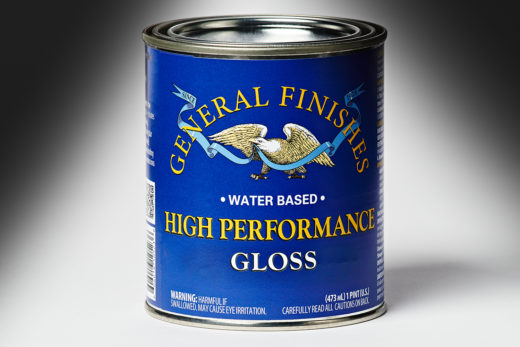 General Finishes Gloss High Performance Polyurethane Water Based Topcoat
