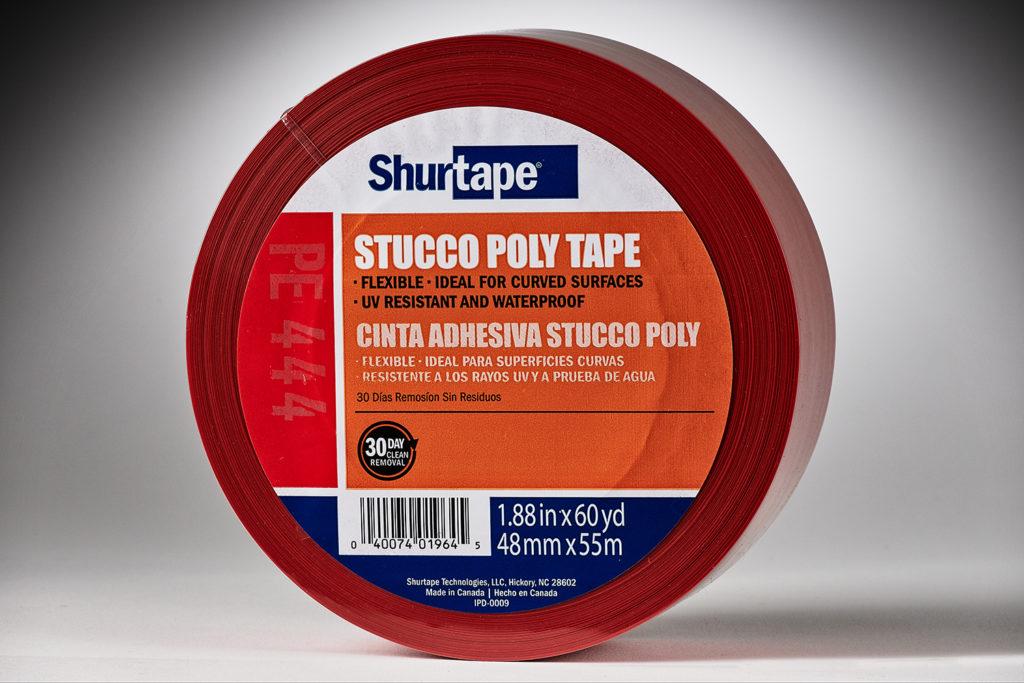 Shurtape UV-Resistant Red Stucco Tape #PE 444