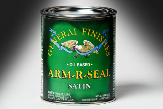 General Finishes Satin Arm-R-Seal Oil Based Topcoat