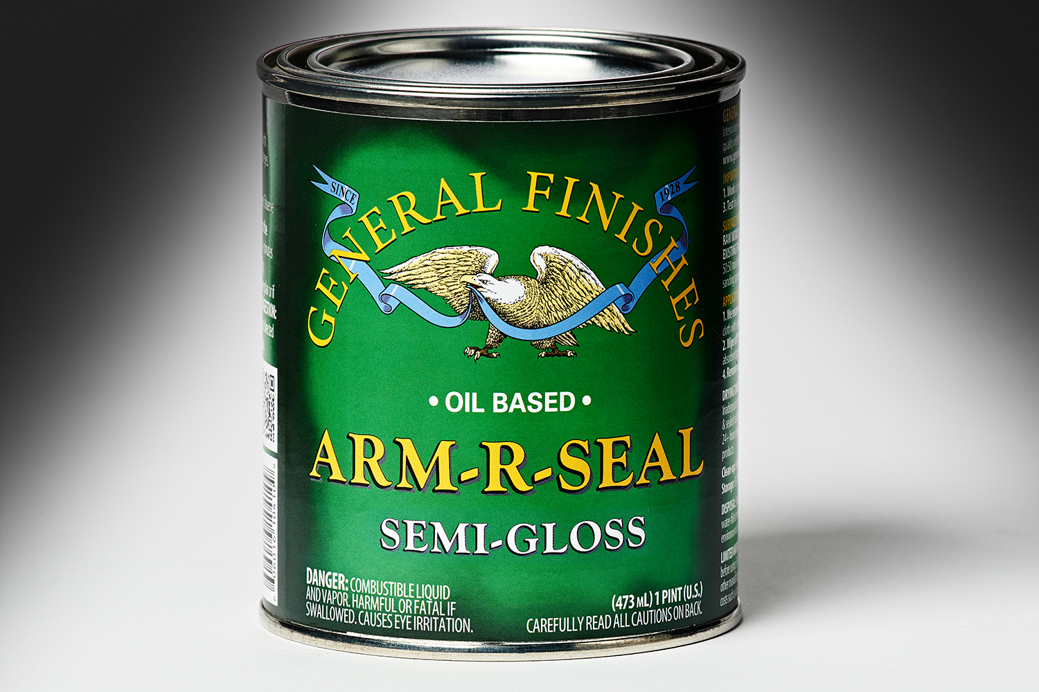 General Finishes Semi-Gloss Arm-R-Seal Oil Based Topcoat