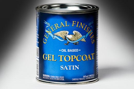 General Finishes Satin Gel Topcoat Oil Based
