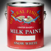 General Finishes Milk Paint Snow White Water Based