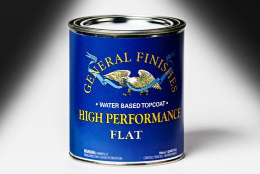 General Finishes Flat High Performance Polyurethane Water Based Topcoat
